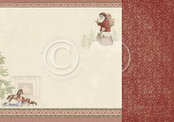 Pion Design A Christmas To Remember skräppipaperi Santa Has Come
