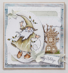 Marianne Design leimasinsetti Gnomes Autumn
