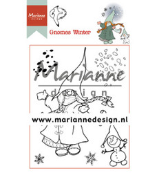 Marianne Design leimasinsetti Gnomes Winter