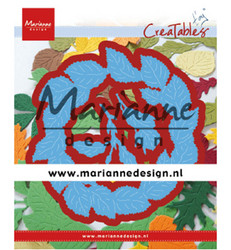 Marianne Design stanssisetti Tiny's Leaves Wreath