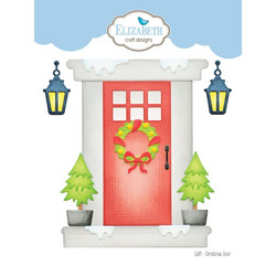 Elizabeth Craft Designs stanssisetti Christmas Door