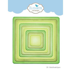 Elizabeth Craft Designs stanssisetti Stitched Rounded Squares