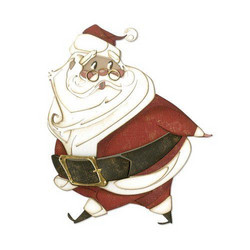 Sizzix Tim Holtz Thinlits stanssisetti Jolly St. Nick