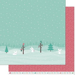 Lawn Fawn Snow Day Remix skräppipaperi Snowboots Remix