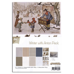 Joy! crafts paperipakkaus Winter With Anton Pieck
