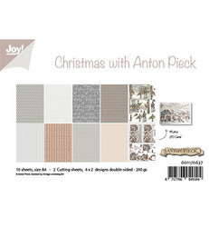Joy! crafts paperipakkaus Christmas With Anton Pieck