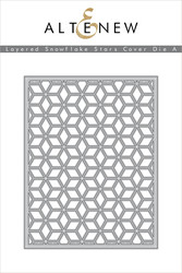 Altenew stanssi Layrered Snowflake Stars Cover A