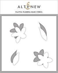 Altenew maski- ja sapluunasetti Playful Plumeria
