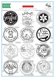 Stamping Village leimasinsetti Holiday Seals