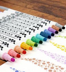 Zig Clean Color Dot -kynä, sävy Kiwi