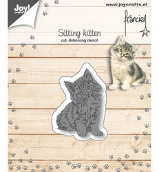 Joy! Crafts stanssi Sitting Kitten