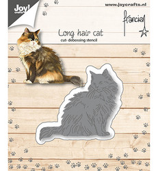 Joy! Crafts stanssi Long Hair Cat
