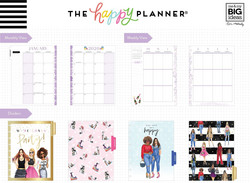 Mambi Happy Planner 12-Month Dated Classic Planner -kalenteri, Rongrong, Always Choose Happy