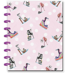 Mambi Classic Happy Notes -muistikirja, Rongrong, Stilettos