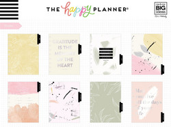 Mambi Happy Planner 12-Month Dated Classic Planner -kalenteri, Painterly