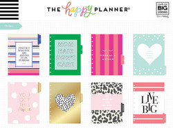 Mambi Happy Planner 12-Month Dated Classic Planner -kalenteri, Modern Mom
