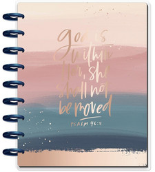 Mambi Happy Planner 12-Month Dated Classic Planner -kalenteri, Psalms - (Faith)