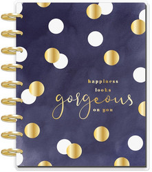 Mambi Happy Planner 12-Month Dated Classic Deluxe Planner -kalenteri, Gorgeous Glam Girl