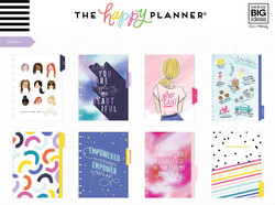 Mambi Happy Planner 12-Month Dated Classic Deluxe Planner -kalenteri, Encourager Empower