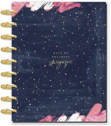 Mambi Happy Planner 12-Month Dated Classic Deluxe Planner -kalenteri, Dreaming Stargazer