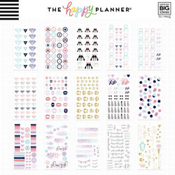 Mambi Happy Planner Value -tarrapakkaus Glam Girl MINI