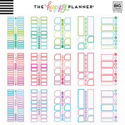 Mambi Happy Planner Value -tarrapakkaus Monthly Colorful Boxes