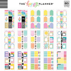 Mambi Happy Planner Mega Value -tarrapakkaus Brights