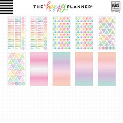Mambi Happy Planner Mega Value -tarrapakkaus Pastels