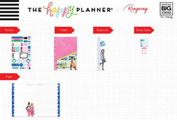 Mambi Happy Planner Mini Accessories -pakkaus Rongrong