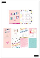 Mambi 2020 Spiral Desk Calendar - Encourager, pöytäkalenteri