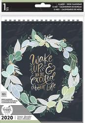 Mambi 2020 Spiral Desk Calendar - Homebody, pöytäkalenteri