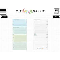 Mambi Happy Planner Classic Half Sheet paperipakkaus, Homebody, To Do List