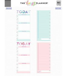 Mambi Happy Planner Classic Half Sheet paperipakkaus, Today, Encourager