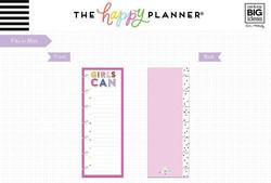 Mambi Mini Planner Half Sheet paperipakkaus Encourager