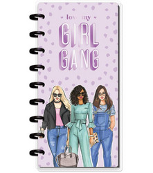 Mambi Happy Planner 12-Month Dated Skinny Planner -kalenteri, Rongrong, Love My Girl Gang