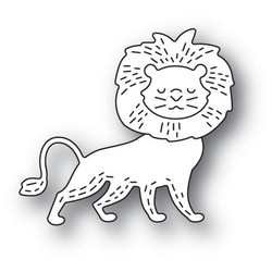 Poppystamps Whittle Lion -stanssi