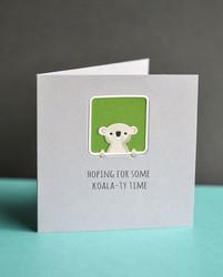 Poppystamps Peek A Boo Koala -stanssi