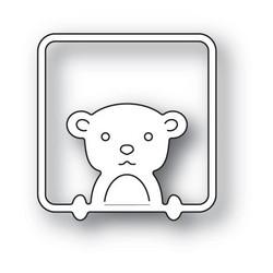 Poppystamps Peek A Boo Bear -stanssi
