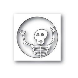 Poppystamps Surprise Skeleton -stanssi