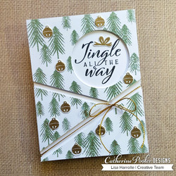 Catherine Pooler leimasin One Fine Pine Background