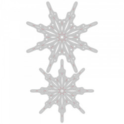 Sizzix Tim Holtz Thinlits stanssisetti Fanciful Snowflakes