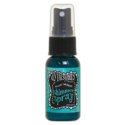 Dylusions Shimmer Spray -suihke, sävy Vibrant Turquoise