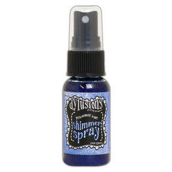 Dylusions Shimmer Spray -suihke, sävy Periwinkle Blue