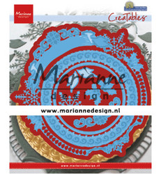 Marianne Design Petra's Winter Circle -stanssisetti