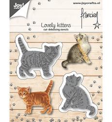 Joy! Crafts stanssisetti Lovely Kittens