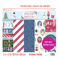 Craft Smart paperipakkaus Holiday Ballet, 12