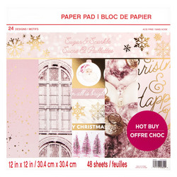 Craft Smart paperipakkaus Sugar & Sparkle, 12