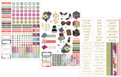 Paper House Hustle -kalenteri, undated, 12 kk