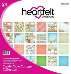 Heartfelt Creations Paperipakkaus Candy Cane Cottage