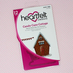 Heartfelt Creations Candy Cane Cottage -stanssisetti